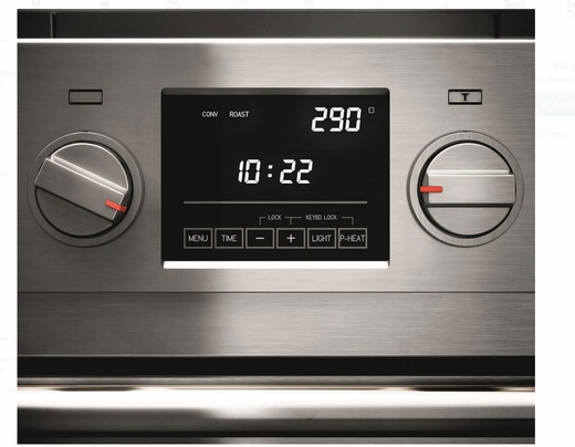 "F6PIR304S1 30"" Fulgor Milano Sofia 600 Series Electric Freestanding Induction Range with 4 Cooking Zones and Dual Convection Oven - Stainless Steel"