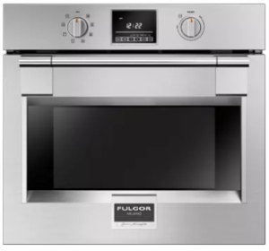 """F6PSP30S1 Fulgor Milano 30"""" 4.4 cu. ft. Single Electric Wall Oven with Dual Fan Convection Cooking and Extra Wide Viewing Area - Stainless Steel"""