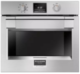 "F6PSP30S1 Fulgor Milano 30"" 4.4 cu. ft. Single Electric Wall Oven with Dual Fan Convection Cooking and Extra Wide Viewing Area - Stainless Steel"