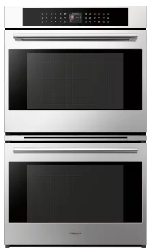 "F7DP30S1 Fulgor Milano 30"" 4.4 cu. ft.  Electric Double Wall Oven with True European Convection and Automatic Fast Preheat - Stainless Steel"