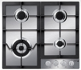 "FA-640STX Fagor 24"" Gas Cooktop - Stainless Steel"