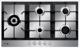 "FA850STX Fagor 30"" Gas Cooktop - Stainless Steel"