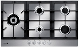 "FA950STX Fagor 34"" Gas Cooktop - Stainless Steel"