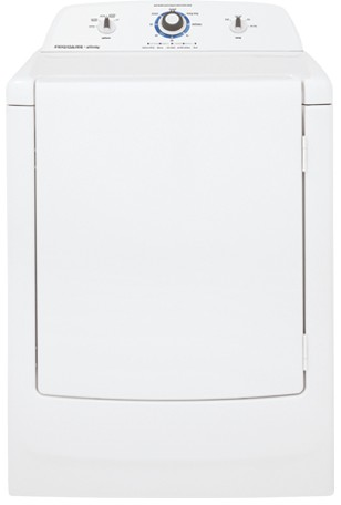 FARG1011MW Frigidaire Affinity High Efficiency Gas Dryer with TimeWise Technology - White