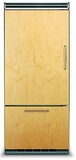 "FDBB5363EL Viking 36"" Professional Bottom Mount Refrigerator with ProChill Temperature Management - Left Hinge - Custom Panel"
