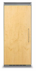"FDRB5363L Viking Professional 5 Series QuietCool Built In 36"" All Refrigerator (Left Hinge) - Custom Panel"