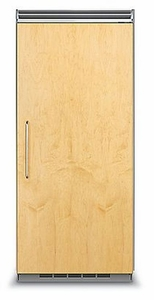 "FDRB5363R Viking Professional 5 Series QuietCool Built In 36"" All Refrigerator (Right Hinge) - Custom Panel"