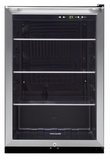 FFBC4622QS Frigidaire Free Standing Beverage Center - Black with Stainless Trim