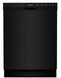"FFBD2412SB Frigidaire 24"" Full Console Built-In Dishwasher with  Sanitize Rinse and Soft Food Disposer - Black"
