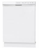 "FFBD2412SW Frigidaire 24"" Full Console Built-In Dishwasher with  Sanitize Rinse and Soft Food Disposer - White"
