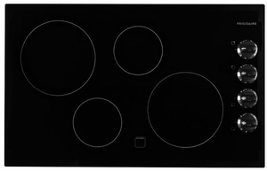"FFEC3225MB Frigidaire 32"" Electric Cooktop with Ready-Select Controls - Black"