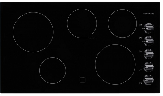 "FFEC3624PB Frigidaire 36"" Electric Built-In Cooktop - Black"