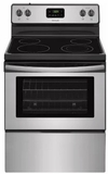 "FFEF3051TS Frigidaire 30"" Freestanding 4.9 Cu. Ft. Capacity Electric Range with Quick Boil and Extra-Large Window - Stainless Steel"