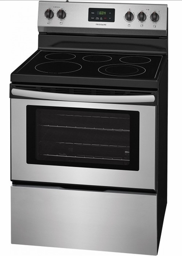 "FFEF3052TS Frigidaire 30"" Freestanding Electric Range with Quick Boil and Extra-Large Window - Stainless Steel"