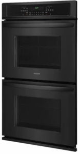 """FFET3026TB Frigidaire 30""""  Built-In Electric Double Wall Oven with Self-Cleaning and Even Baking Technology - Black"""