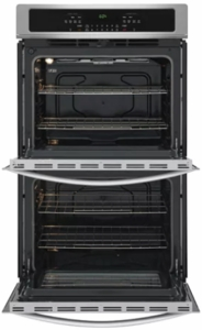 """FFET3026TS Frigidaire 30""""  Built-In Electric Double Wall Oven with Self-Cleaning and Even Baking Technology - Stainless Steel"""