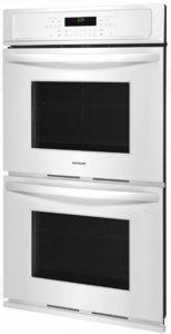"FFET3026TW Frigidaire 30""  Built-In Electric Double Wall Oven with Self-Cleaning and Even Baking Technology - White"