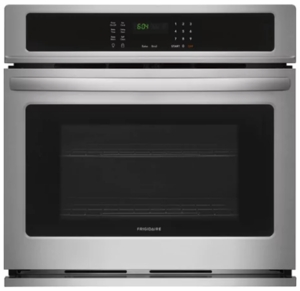 "FFEW2726TS Frigidaire 27"" Built-In Single Electric Wall Oven with Self-Cleaning and Even Baking Technology - Stainless Steel"