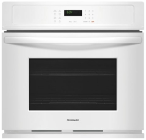 """FFEW2726TW Frigidaire 27"""" Built-In Single Electric Wall Oven with Self-Cleaning and Even Baking Technology - White"""
