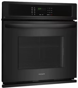"""FFEW3026TB Frigidaire 30"""" Electric Single Wall Oven with Self-Cleaning and Even Baking Technology - Black"""