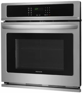"""FFEW3026TS Frigidaire 30"""" Electric Single Wall Oven with Self-Cleaning and Even Baking Technology - Stainless Steel"""
