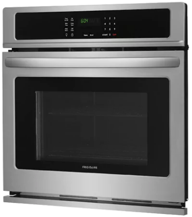 "FFEW3026TS Frigidaire 30"" Electric Single Wall Oven with Self-Cleaning and Even Baking Technology - Stainless Steel"