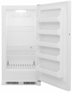 "FFFU14F2QW Frigidaire 13.8 Cu. Ft. Upright 30"" All Freezer with Frost Free Operation - White"