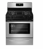 """FFGF3023LM Frigidaire 30"""" Freestanding Gas Range with Quick Boil - Silver Mist"""