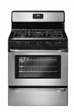 "FFGF3049LS Frigidaire 30"" Freestanding Gas Range with Recessed Cooktop Surface - Stainless Steel"