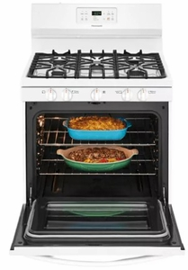 """FFGF3054TW Frigidaire 30"""" Freestanding Gas Range with Quick Boil and Sealed Gas Burners - White"""