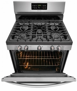 "FFGF3056TS Frigidaire 30"" Freestanding Gas Range with Quick Boil and Sealed Gas Burners - Stainless Steel"