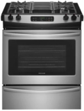 """FFGS3026TS Frigidaire 30"""" Slide-In Gas Range with One-Touch Self Clean and Even Baking Technology - Stainless Steel"""