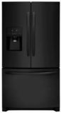 "FFHB2750TE Frigidaire 36"" 27.19 cu. ft. French Door Refrigerator with Multi Level LED Lighting and Dual Ice Ready - Ebony"