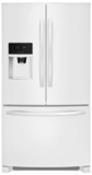 "FFHB2750TP Frigidaire 36"" 27.19 cu. ft. French Door Refrigerator with Multi Level LED Lighting and Dual Ice Ready - Pearl"
