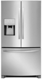 """FFHB2750TS Frigidaire 36"""" 27.19 cu. ft. French Door Refrigerator with Multi Level LED Lighting and Dual Ice Ready - Stainless Steel"""