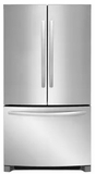 """FFHG2250TS Frigidaire 36"""" 22.4 cu. ft. French Door Refrigerator with Store-More Shelves and Effortless Glide Crisper Drawers - Stainless Steel"""
