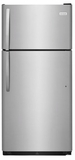 """FFHI1832TS Frigidaire 30"""" Top Mount 18 Cu. Ft.  Refrigerator with Store-More Gallon Door Shelf and Clear Dairy Bin - Stainless Steel"""
