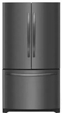"FFHN2750TD Frigidaire 36"" French Door 27.6 Cu. Ft. Refrigerator with Store-More Shelves and PureSource Ultra II Water Filtration - Black Stainless Steel"