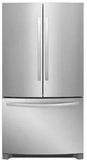 """FFHN2750TS Frigidaire 36"""" French Door 27.6 Cu. Ft. Refrigerator with Store-More Shelves and PureSource Ultra II Water Filtration - Stainless Steel"""