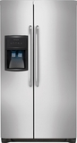 FFHS2622MS Frigidaire 26 Cu. Ft. Side By Side Refrigerator - Stainless Steel