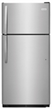"FFHT1821TS Frigidaire 30"" 18 Cu. Ft. Top Freezer Refrigerator with Humidity-Controlled Crisper Drawers and Reversible Door - Stainless Steel"