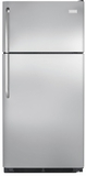 "FFHT1831QS Frigidaire 18 Cu. Ft. Top Freezer 30"" Wide Refrigerator Built with American Pride - Stainless Steel"