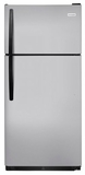 """FFHT1832TM Frigidaire 30"""" Top Mount 18 Cu. Ft.  Refrigerator with Store-More Gallon Door Shelf and Clear Dairy Bin - Silver Mist"""
