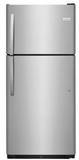 """FFHT2021TS Frigidaire 30"""" Top Mount 20.4 Cu. Ft.  Refrigerator with Store-More Gallon Door Shelf and Clear Dairy Bin - Stainless Steel"""