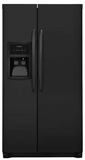 "FFHX2325TE Frigidaire 33"" Standard-Depth Side by Side 22.0 Cu. Ft. Refrigerator with PureSource 3 and Adjustable Interior Storage - Black"