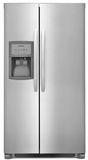 "FFHX2325TS Frigidaire 33"" Standard-Depth Side by Side 22.0 Cu. Ft. Refrigerator with PureSource 3 and Adjustable Interior Storage - Stainless Steel"