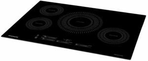"""FFIC3026TB Frigidaire 30"""" Built-In Induction Cooktop with Auto Sizing Pan Detection and Even Heat - Black"""
