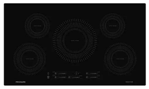 "FFIC3626TB Frigidaire 36"" Built-In Induction Cooktop with Auto Sizing Pan Detection and Even Heat - Black"