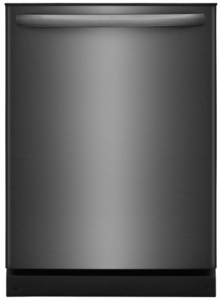 "FFID2426TD Frigidaire 24"" Fully Integrated Dishwasher with OrbitClean and DishSense - Black Stainless Steel"