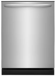 "FFID2426TS Frigidaire 24"" Fully Integrated Dishwasher with OrbitClean and DishSense - Stainless Steel"